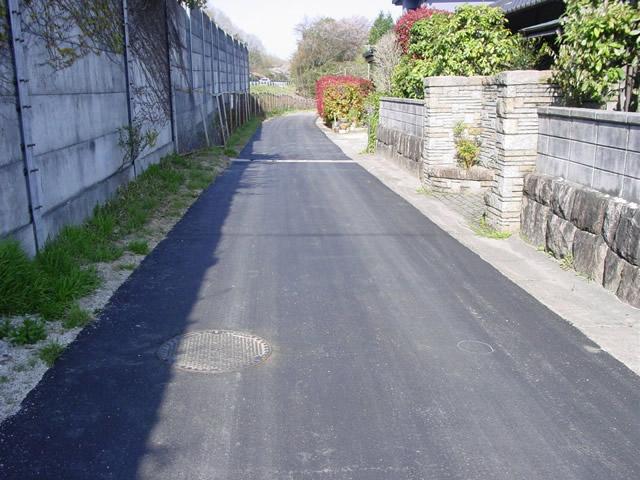 平成21年度 釜戸地区汚水管布設工事